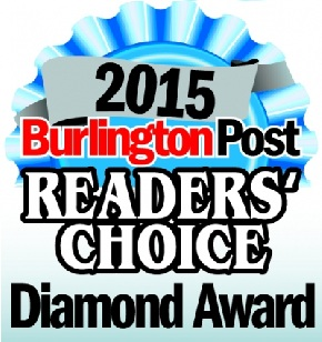 Burlington Readers' Choice Award